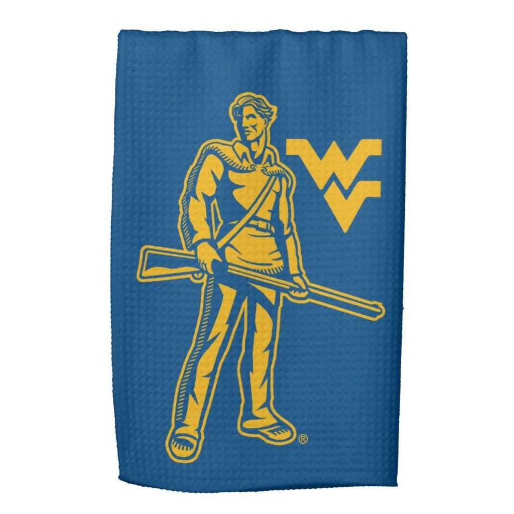WVU Mountaineer Kitchen Towel | Zazzle.com #wvumountaineers