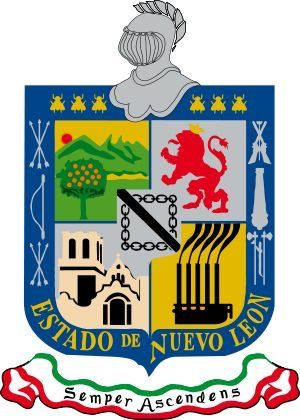 1824 Estado De Nuevo León Capital Monterrey Mexico Nuevoleón Monterrey L1689 Brasão De Armas Brasão Geografia