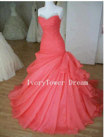 Cheap Ball Gown Sweetheart Prom Dress Evening by IvoryTowerDream, $175.00
