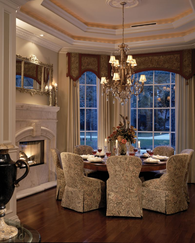 Fireplace For Warmth & Bay Window For Light