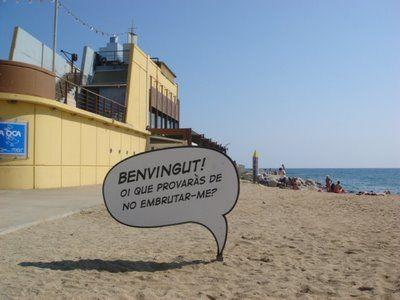 Vinetas Playa De La Mar Bella Barcelona 2008