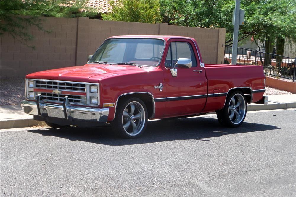 Sold At Reno Tahoe 2015 Lot 344 1986 Chevrolet Silverado