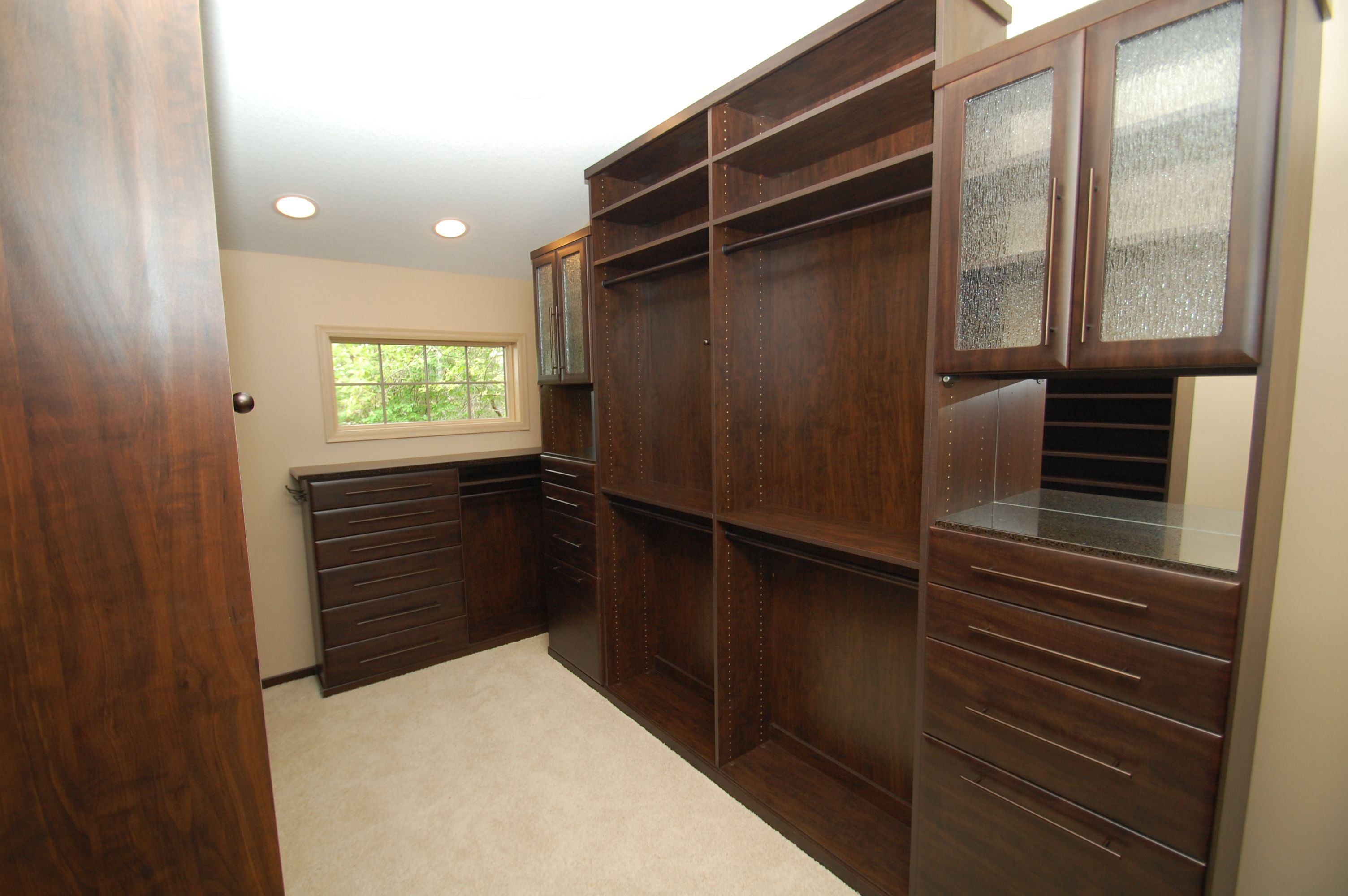 Chocolate Pear Master Closet From Twin Cities Closet Co.