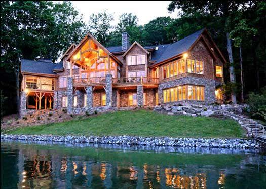 It S A Beauty Mountain Dream Homes Lake House Plans Mountain House Plans
