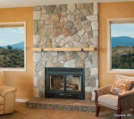 Field Stone Fireplace fireplace: aspen dressed fieldstone - cultured stone® brand find