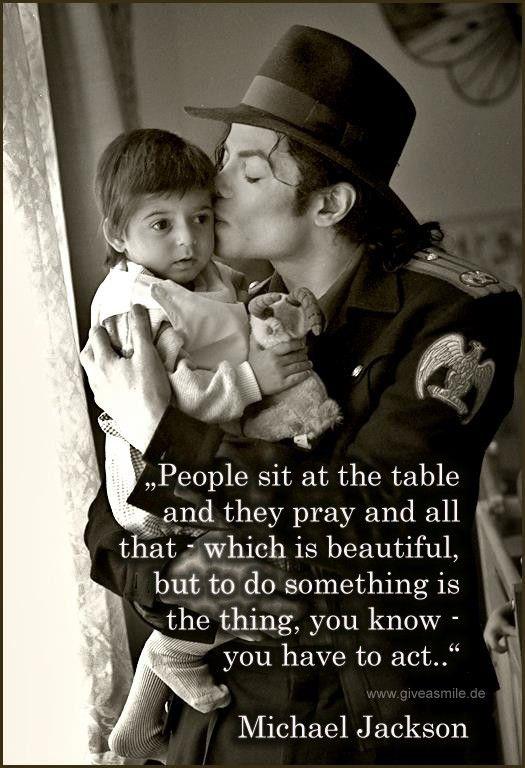 Give A Smile Projects zu Ehren von Michael Jackson - Willkommen