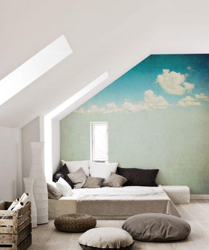 bedroom decor - wall murals - bedroom restyling - wall stickers @pixersize