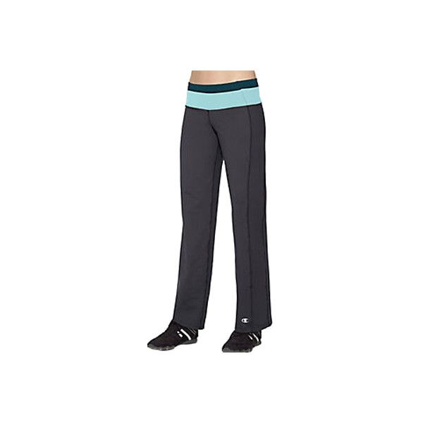 aa128d6fe693 Women s Champion PowerTrain Absolute Workout Pants - Black Athletic...  ( 43) ❤ liked on Polyvore featuring activewear