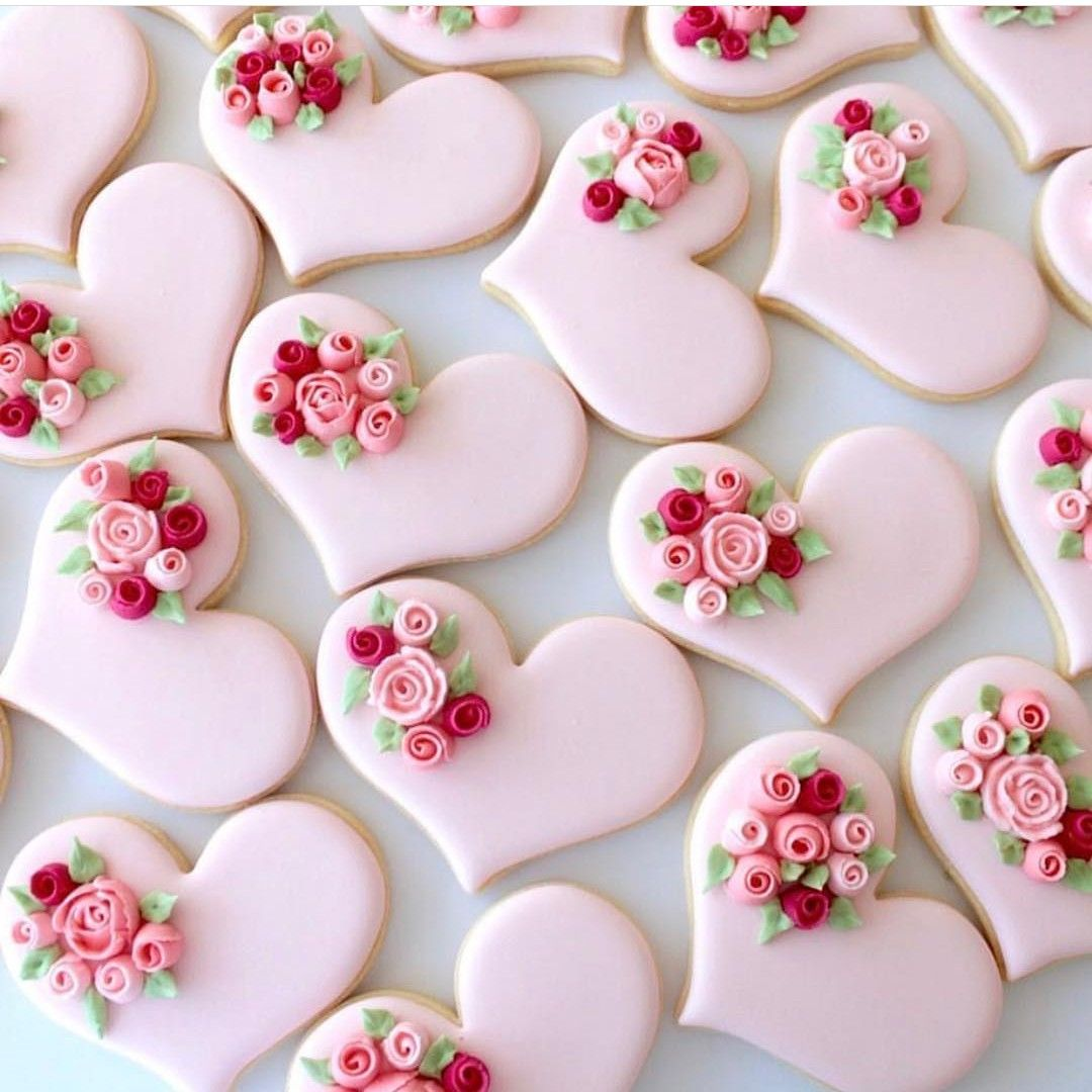 Pin by Victorious Masturzo on Cookies | Pinterest | Heart cookies ...