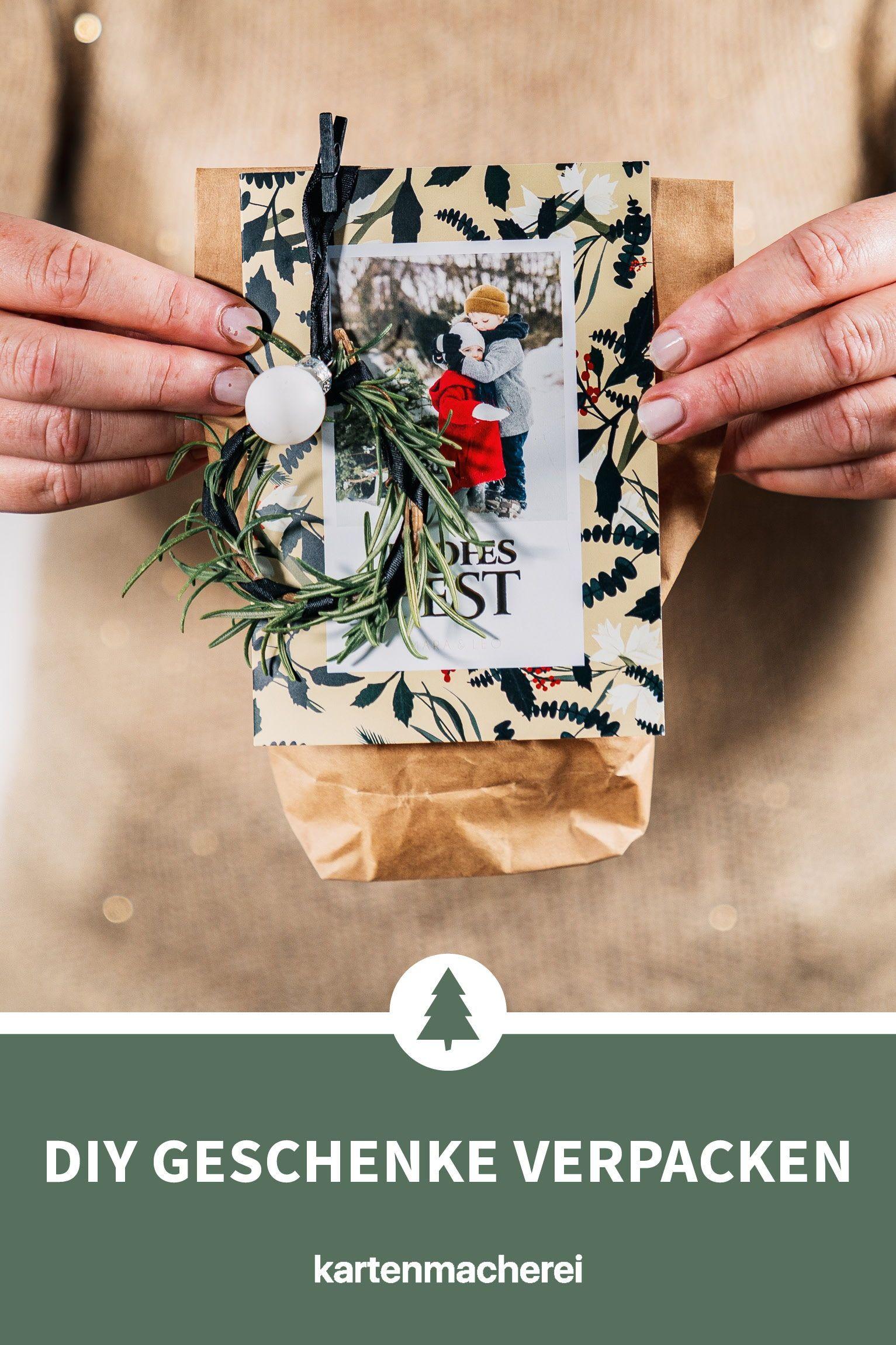 Greenery Dekoration Fur Eure Weihnachtskarte Geschenke Weihnachten Geschenke Verpacken Weihnachten Selbstgemachte Geschenke Zu Weihnachten