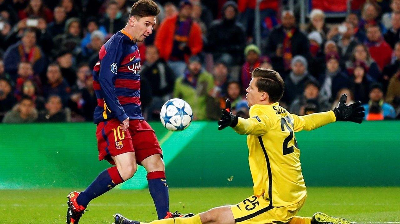 Clarindeporteshd Champions League Messi As Roma