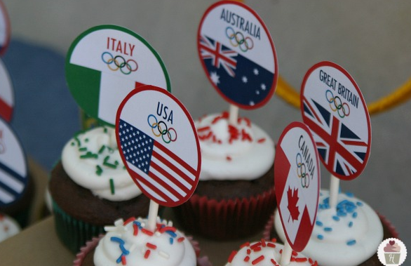International party cupcake theme? I think yes!