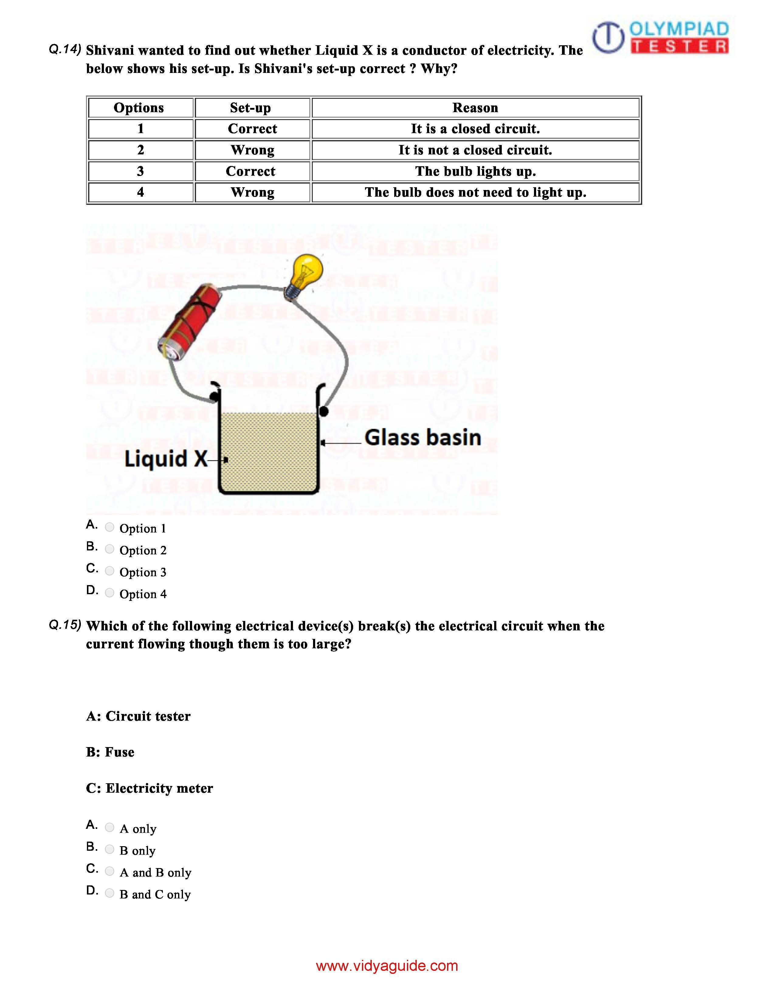 Download 12 CBSE Science Class 6 Sample papers on