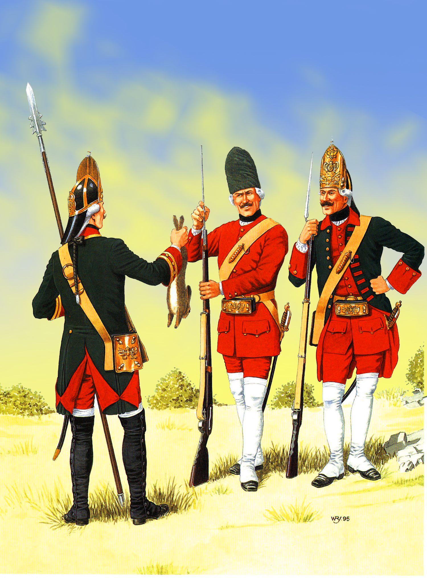 Russian Line Grenadiers, Seven Years War