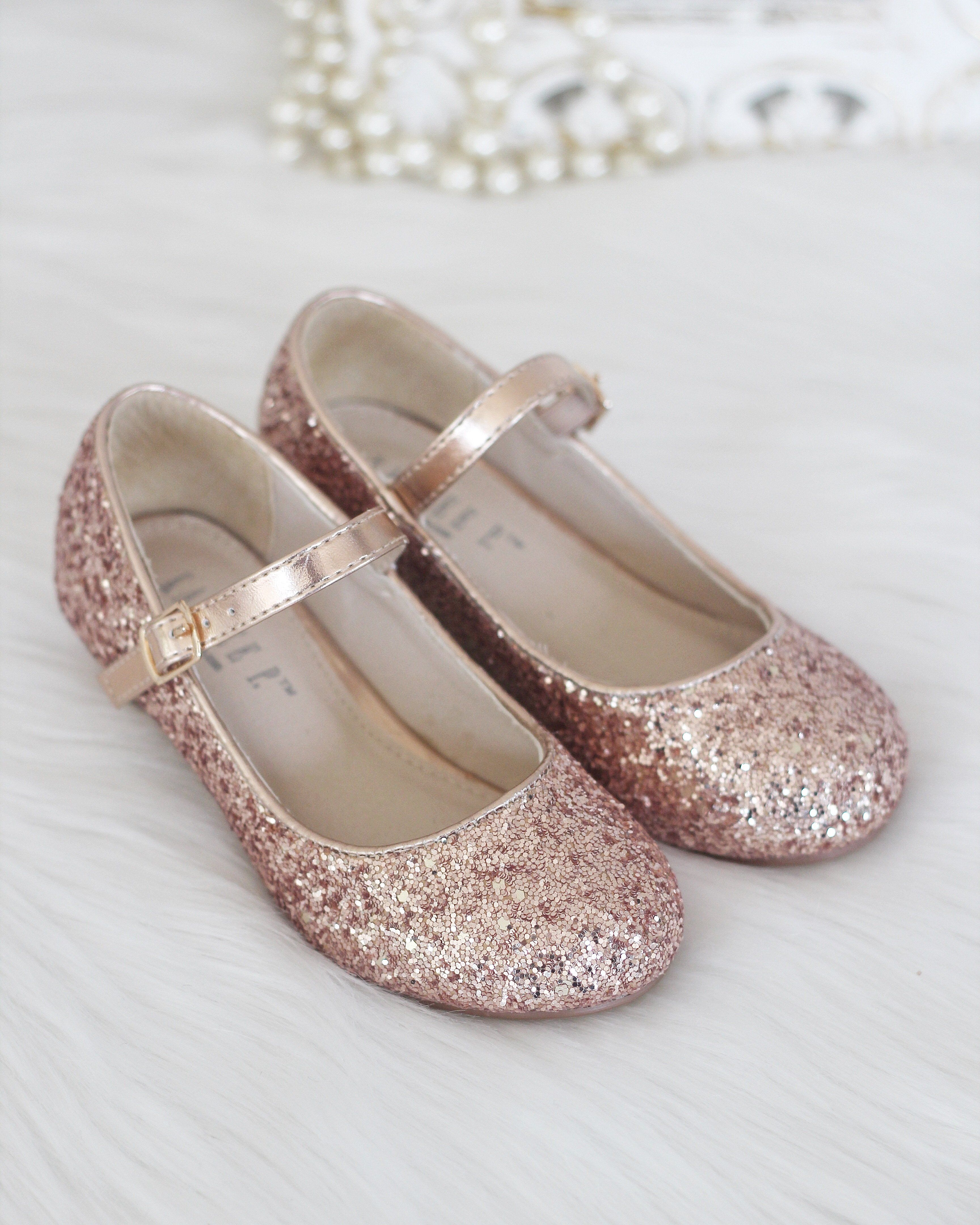 89ba60579f6d Glitter mary-jane with a kitten heel. Perfect for dress up