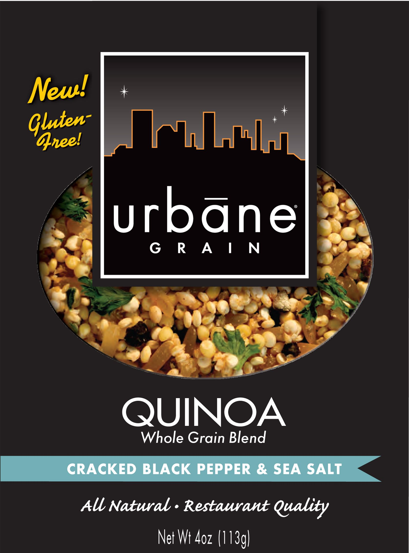 Do you know why all the buzz about quinoa? try urbane grain restaurant quality side dishes, comes in 9 different flavors.