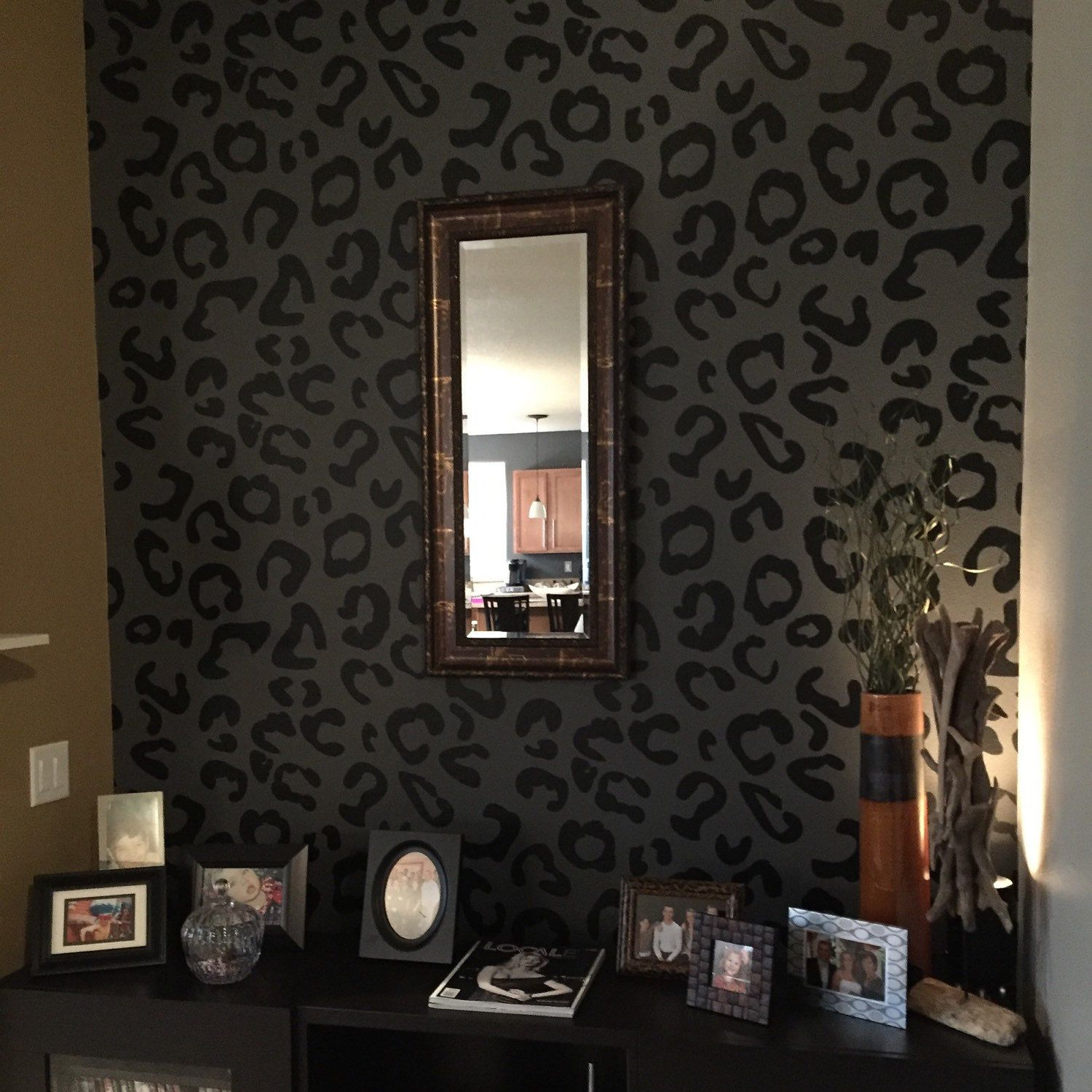 WallStarGraphics shared a new photo on Etsy  Accent wall bedroom