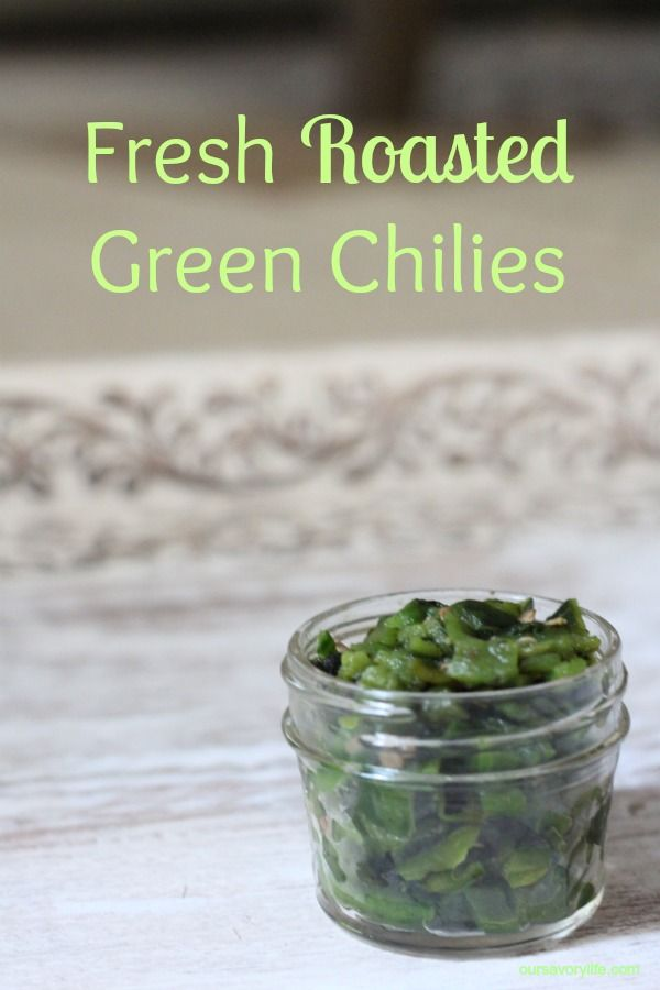 So, Winter?! & a Substitute for Canned Green Chilies #greenpeppers