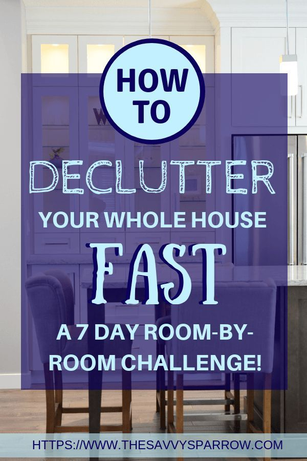 How to Declutter Your House in One Week  A 7 Day Challenge How to Declutter Your House in One Week  A 7 Day Challenge