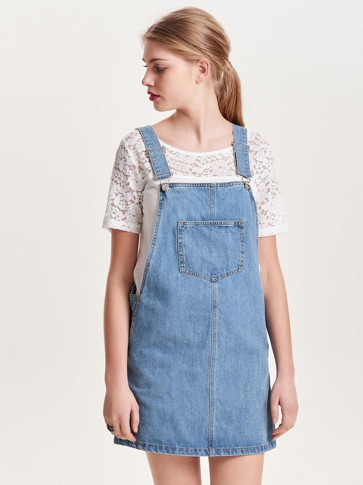 3e7e4d2d143 Only Denim Pinafore Dress. Size 36 UK 8. rrp 35.00. SA077 AA 06  fashion   clothing  shoes  accessories  womensclothing  dresses (ebay link)