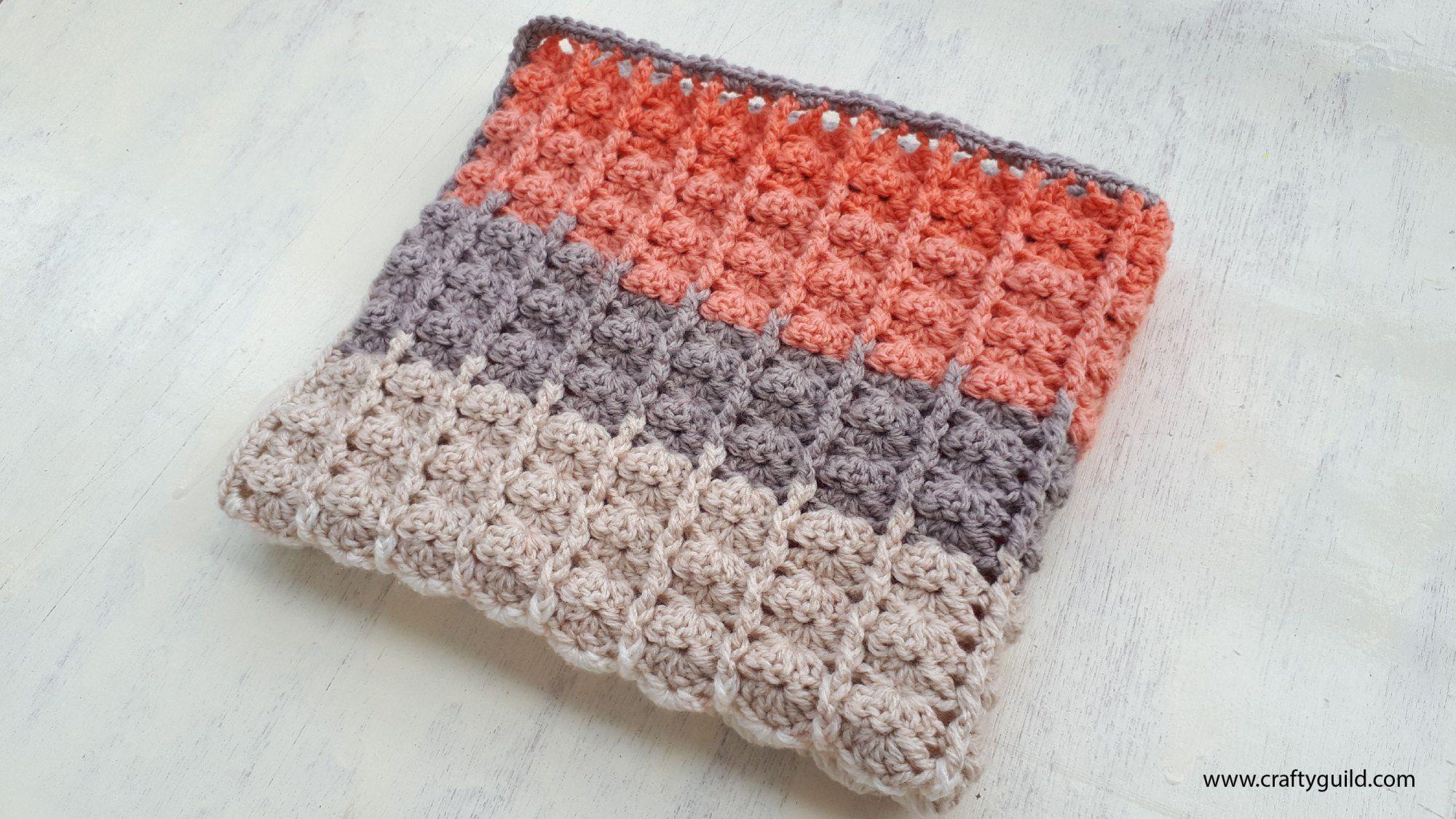 1 Ball Caron Cake Baby Blanket | crocheting | Pinterest