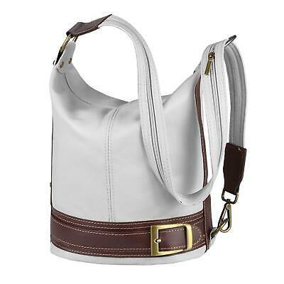 Photo of ITAL WOMEN'S LEATHER BAG BACKPACK Crossbody Shoulder Bag Daypack …