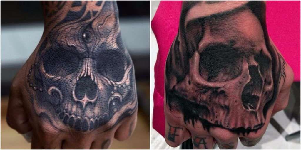 Tatuaje Mano Calavera Gr4f1co Pinterest Tattoos Y Tigger