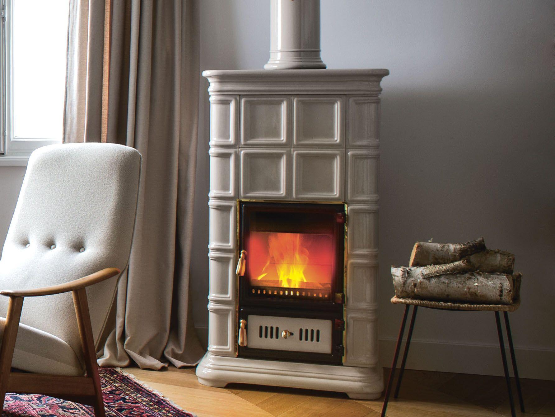 Wood Burning Ceramic Stove