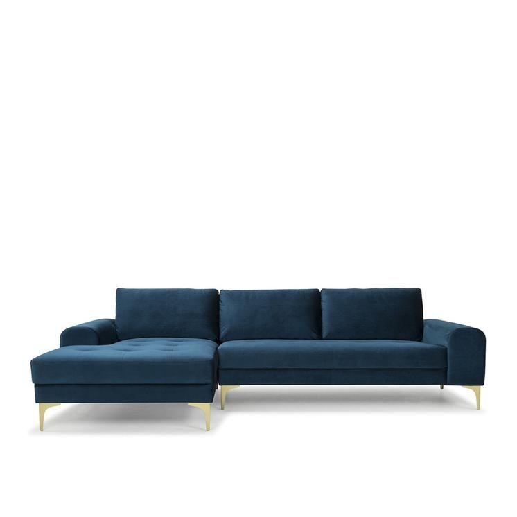 Slumber Corner Sofa Petrol Blue Rhf Blue Corner Sofas Corner Sofa Sofa