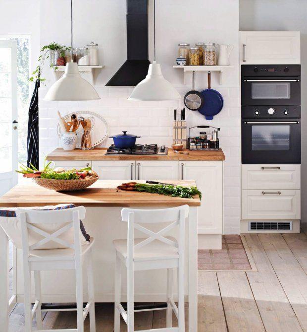 Kuchnia z wyspą, Ikea, fot. mat. pras. | home | Pinterest | Küche