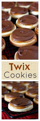 Twix Cookies Recipe   Yummly