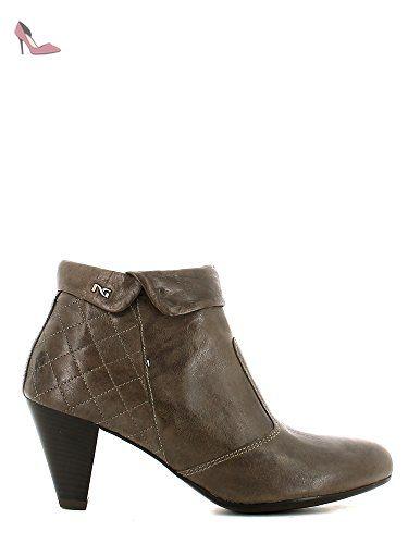 Femme Verdegris Giardini Chaussures Pour Nero Bottes zC4tqxw