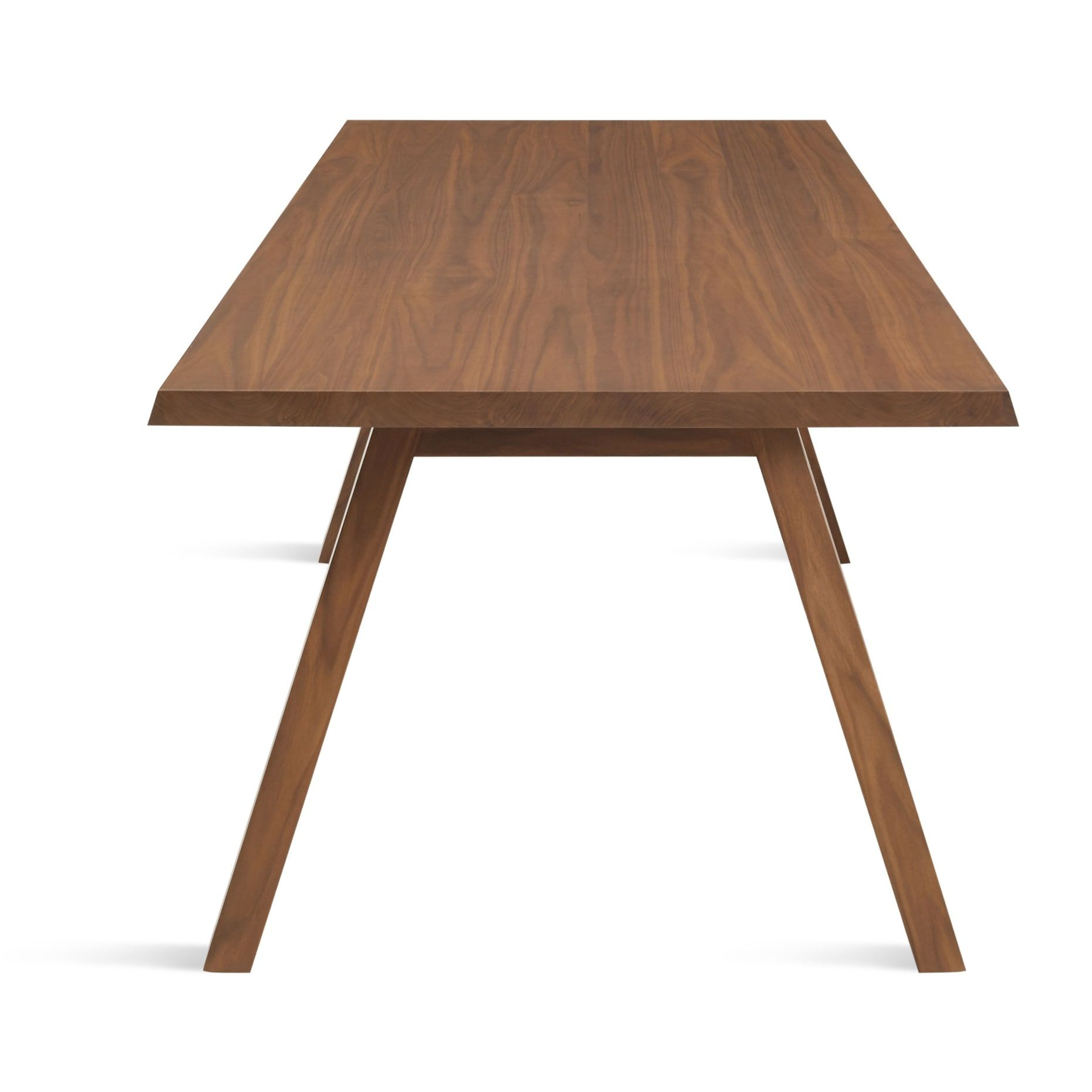 A Walk In The Park 90 Modern Rectangular Wood Dining Table Blu
