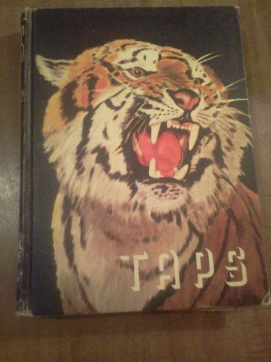 1950 Clemson A&M College Taps Yearbook Tigers by TreasureHuntFinds ...