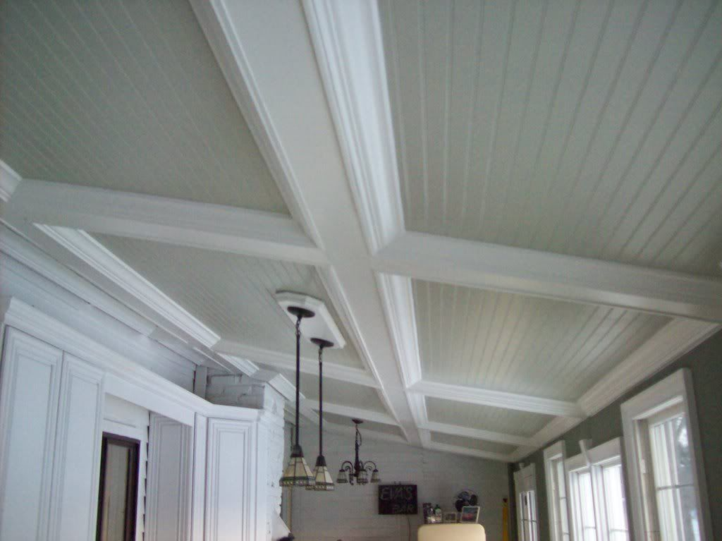 Beam Ceiling W Beadboard Inserts Photo This Photo Was
