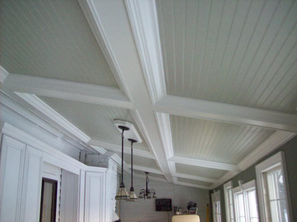 beadboard panel ceiling