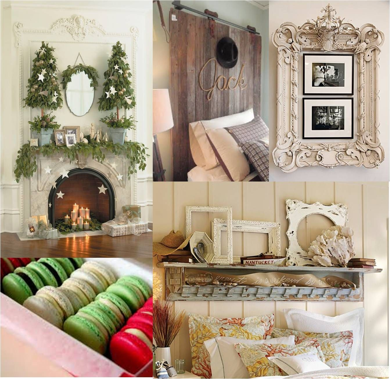 French country christmas decorations -