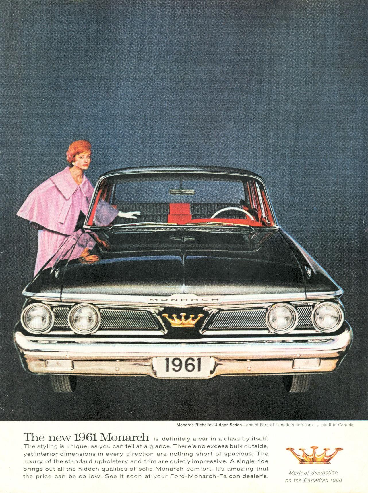1961 Monarch - Mercury Monarch   PLUM CRAZY & CANDY APPLE RED ...