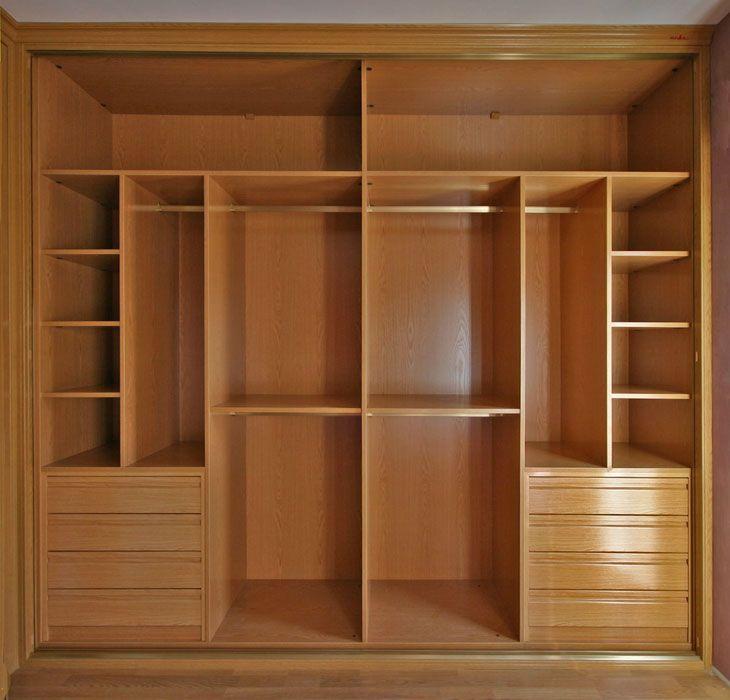 Interiores armarios empotrados a medida lolamados for Puertas roperos empotrados ikea