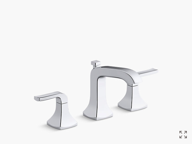 K R76216 4d Rubicon Widespread Bathroom Faucet Kohler Sink