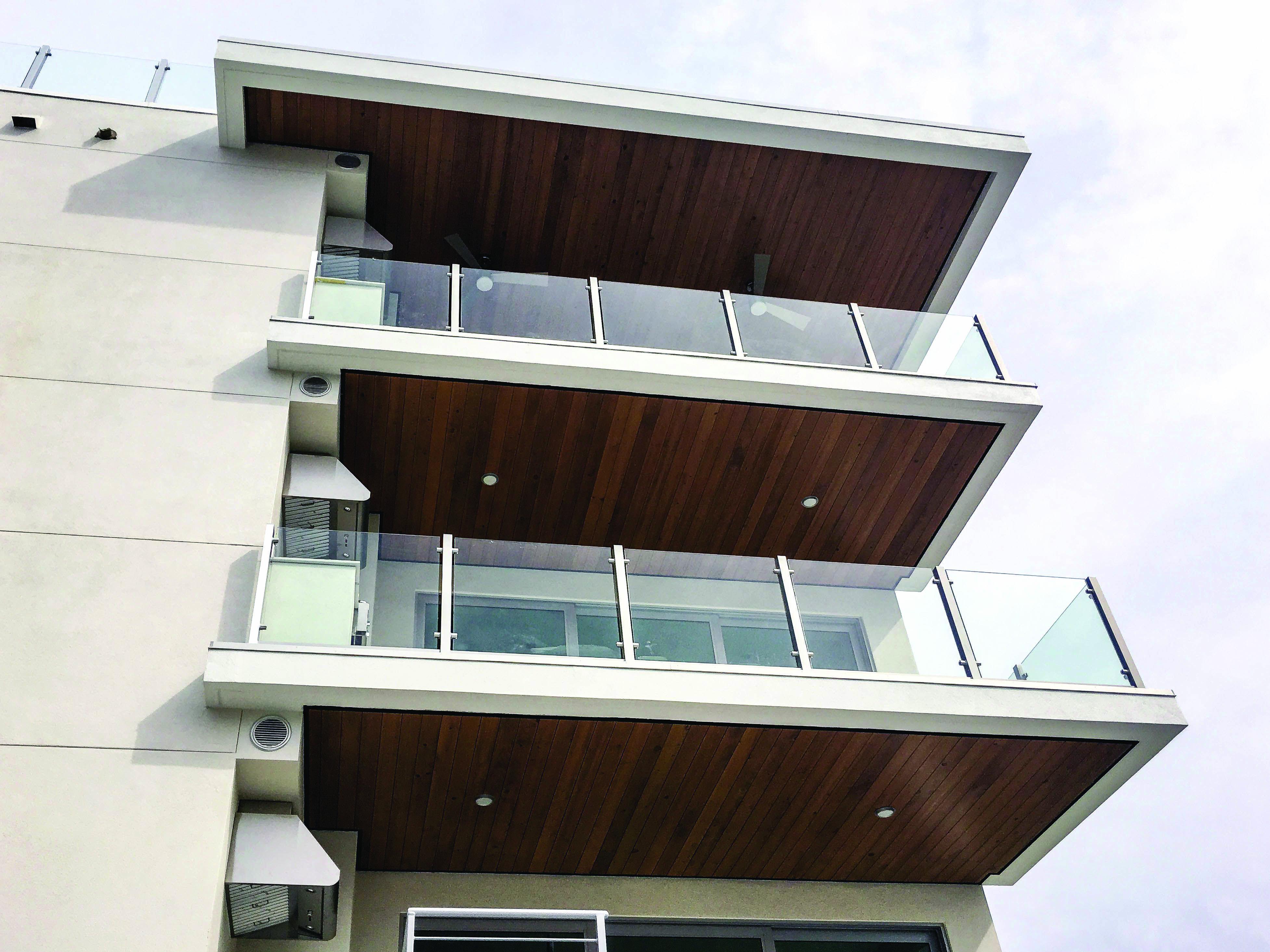Balcony Railing Concepts Balcony railing, Glass and