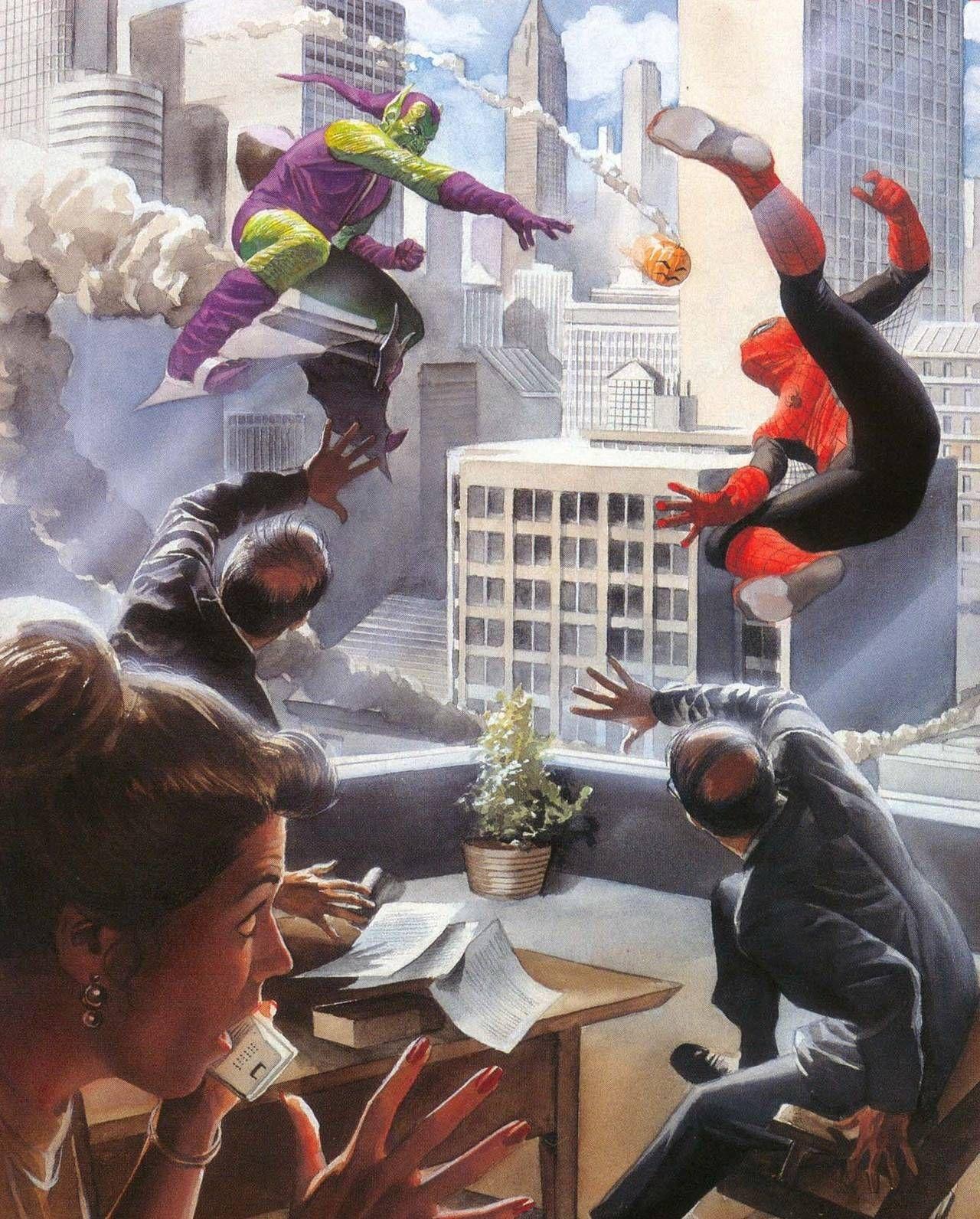 "#Spiderman #Fan #Art. (Marvels ""Preview Issue"" #0 Cover) By: John Romita Sr & Alex Ross. (THE * 5 * STÅR * ÅWARD * OF: * AW YEAH, IT'S MAJOR ÅWESOMENESS!!!™)[THANK Ü 4 PINNING<·><]<©>ÅÅÅ+(OB4E)"