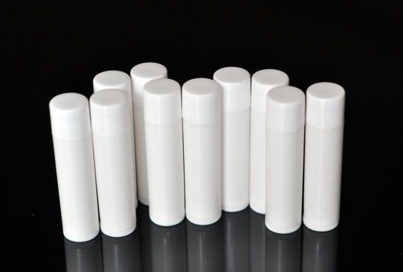 empty 25 white oval lip balm tube make your own craft