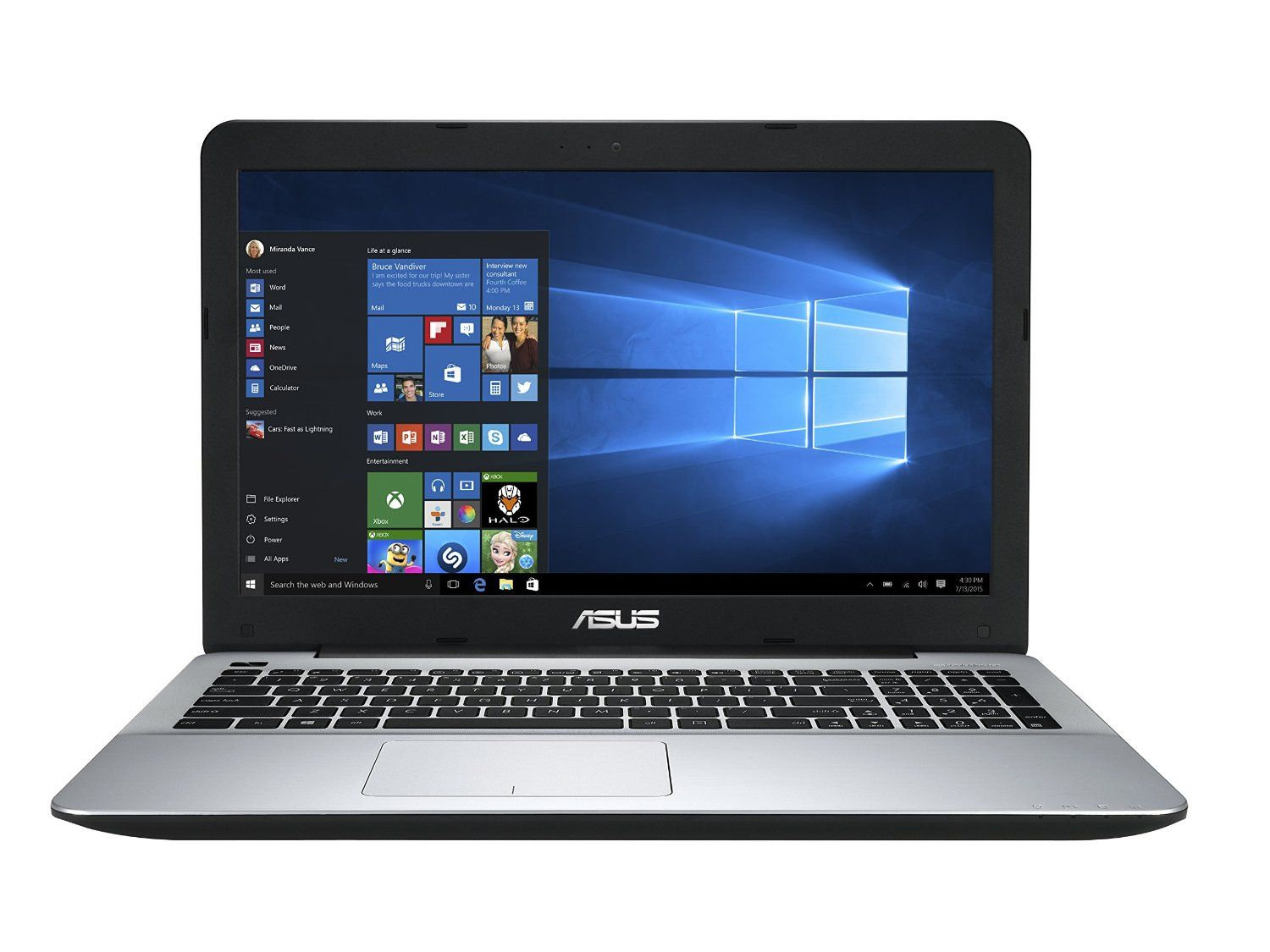Vente Pc Portable Asus F555ua Eh71 15 6 Inch Intel Core I7 8gb 1tb Hdd Laptop