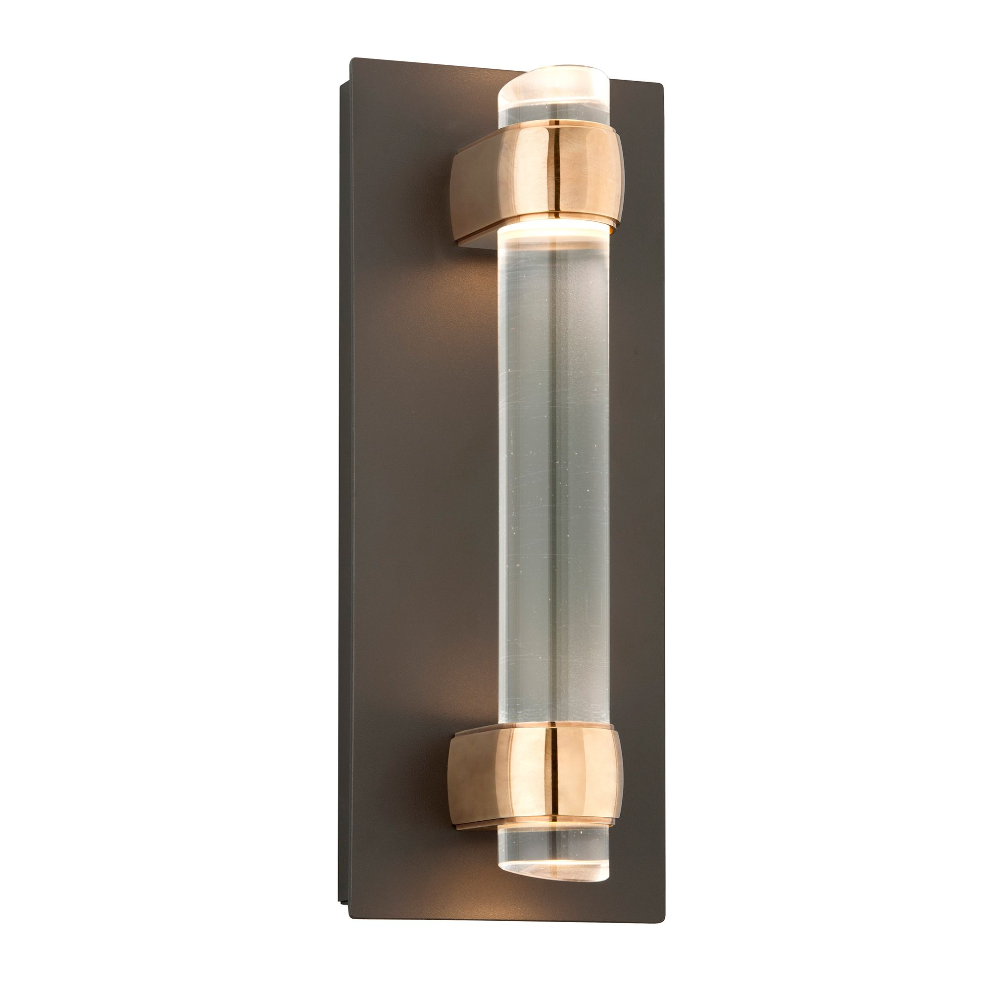 Utopia Outdoor Wall Light Comes With Clear Glass In A Bronze Finish One 12 Watt 120 Volt Led Mod Outdoor Wall Sconce Bronze Wall Sconce Outdoor Wall Lighting