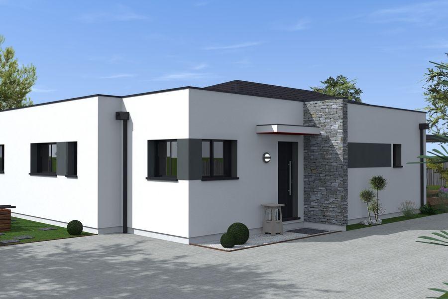 Résultats de recherche du0027images pour « plan maison cube toit plat