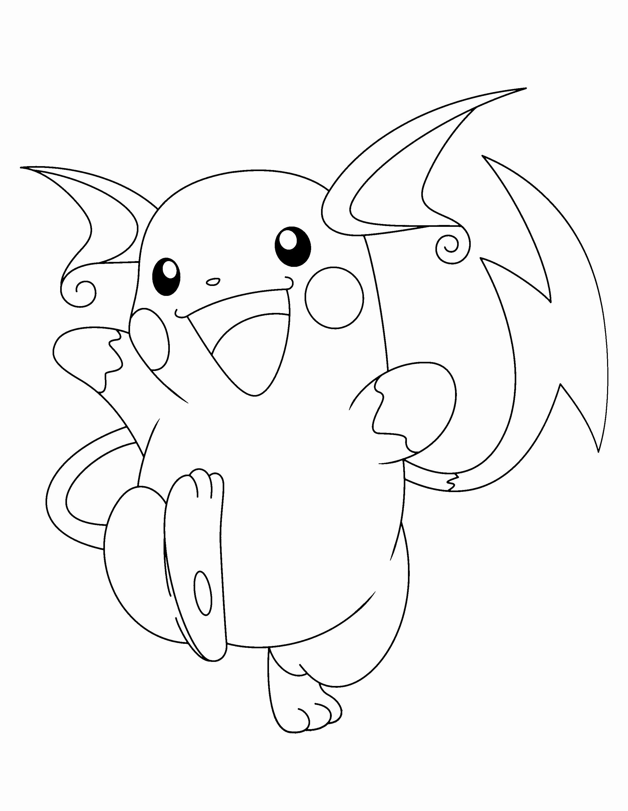Alolan Raichu Coloring Page Awesome Raichu Drawing At Getdrawings Pokemon Coloring Pages Pokemon Coloring Moon Coloring Pages