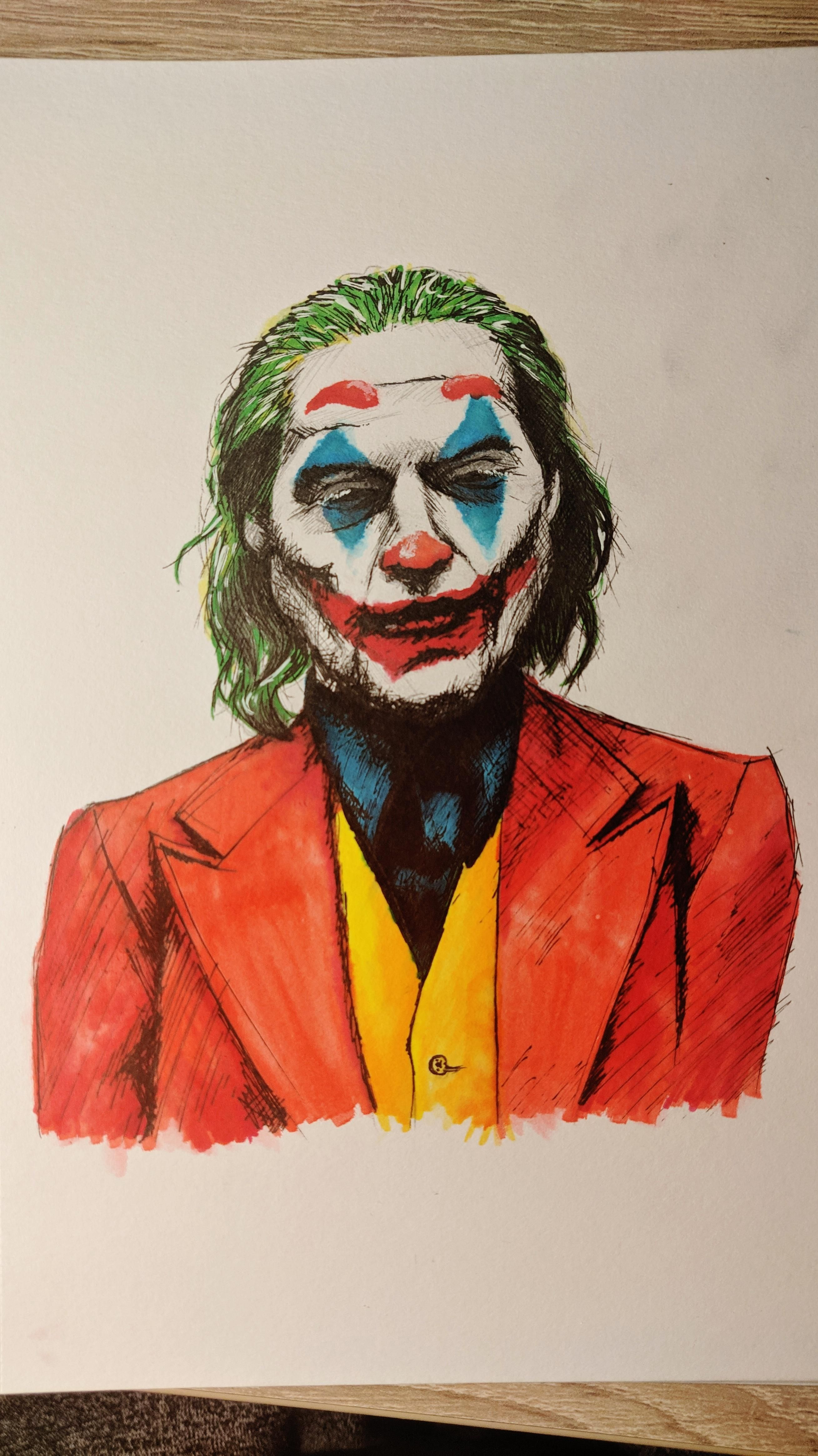put on a happy face reddit small sketch of joaquin phoenix s