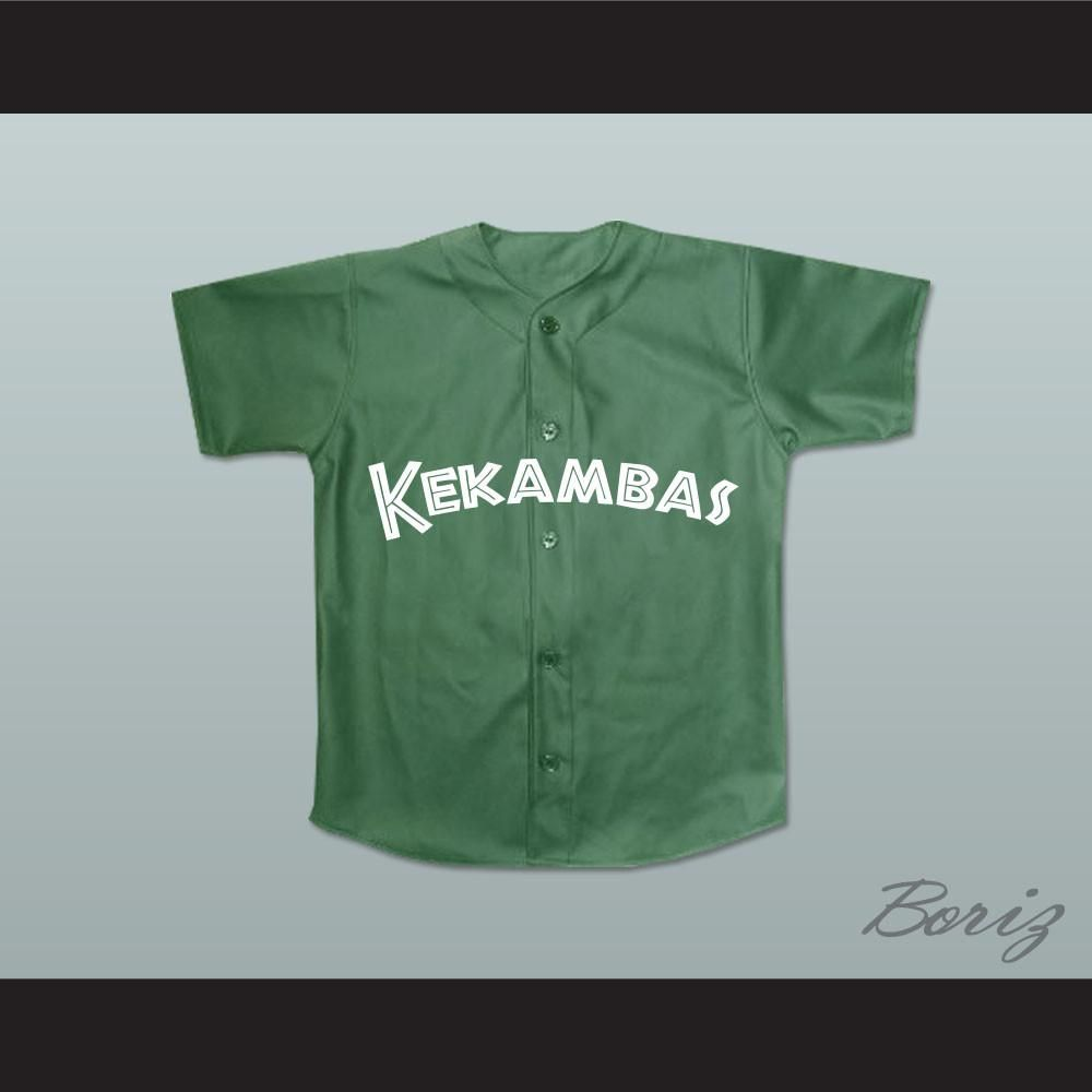 7c1c4996c31 Raymond  Ray Ray  Bennet 5 Kekambas Baseball Jersey Hardball Dark Green.  STITCH SEWN GRAPHICS CUSTOM BACK NAME CUSTOM BACK NUMBER ALL SIZES  AVAILABLE ...