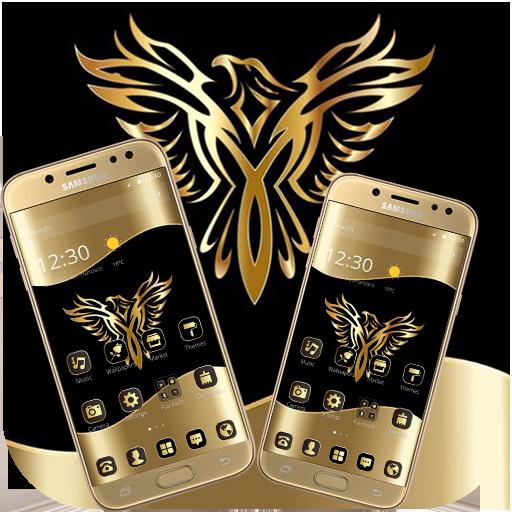 Download Gold Luxury Eagle Theme 1 1 3 Apk